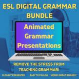 ESL Digital Grammar Bundle - Distance Learning