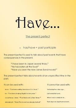 ESL Discussion Flashcards: 'If' and 'Have'