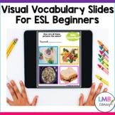 ESL Distance Learning, Digital ESL Beginner Activity Slide