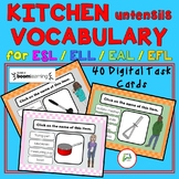 ESL EAL ELL EFL ELD Kitchen Utensils Vocabulary
