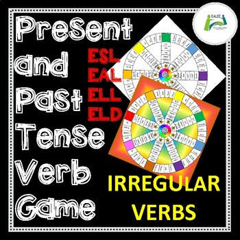 ESL / EAL / ELL / EFL Present and Past Tense Verb Game