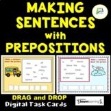 ESL /EAL / ELL Making Sentences with Prepositions Boom Dis