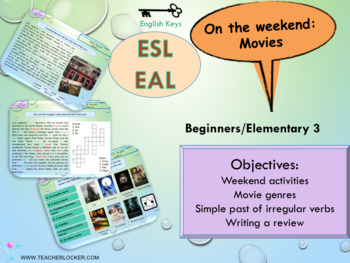 ESL/EAL Past Simple and movies PPT
