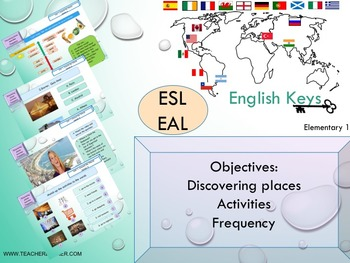ESL EAL introduction, hobbies Unit 1 lesson 4 full lesson beginners