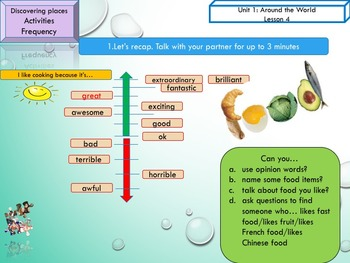 ESL EAL introduction, hobbies, frequency adverbs: interactive activities