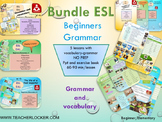 ESL EAL grammar bundle interactive activities and printables NO PREP