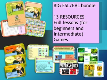 ESL/EAL mix resources bundle