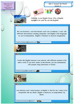 ESL EAL numbers 1-10, verb TO BE, Unit 1 lesson 2 booklet for beginners