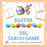ESL - ELL EASTER Theme Taboo Game