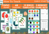 EASTER- ESL worksheets for YOUNG LEARNERS - Bingo and memo