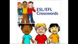 ESL/EFL Crossword Worksheets
