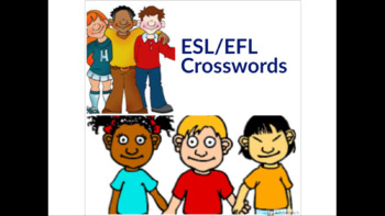 ESL/EFL Crossword Worksheets