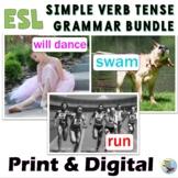 ESL Newcomers ESL Beginners English Grammar Verbs Bundle Past Present Future