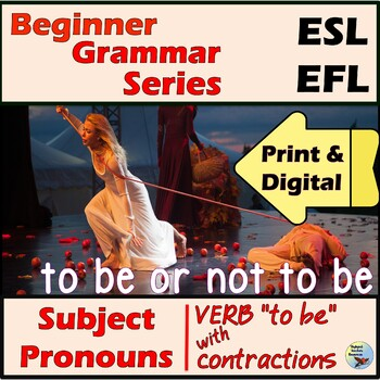 ESL EFL Verb To Be Practice for Older Kids and Adults