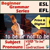 ESL EFL Verb To Be Practice for Older Kids and Adults Great for Newcomers