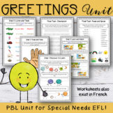 Hello and Goodbye - EFL Worksheets
