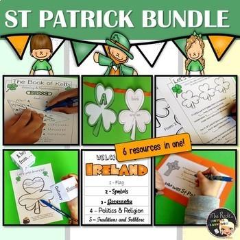 Ireland - Activities Bundle ESL-EFL