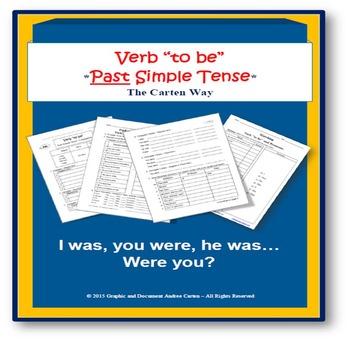 """ESL: Verb """"to be"""" – Past Simple Tense"""