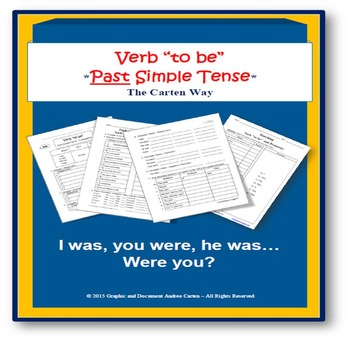 "ESL: Verb ""to be"" – Past Simple Tense"
