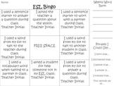 ESL ELL Bingo Sheet