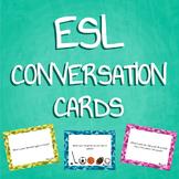 ESL / ELL Conversation Cards