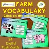 ESL ELL EAL ELD EFL Farm Vocabulary Boom Interactive Digit