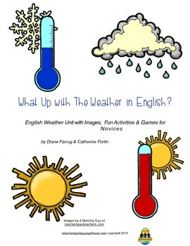 What's Up With Weather in English? For ESL