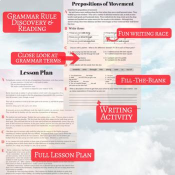 ESL/ELL Grammar Bundle - 4 Lesson Pack!