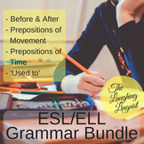 ESL/ELL Grammar Bundle - 4 Lesson Pack!