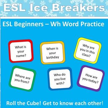 ESL / ELL Ice Breaker for Beginners: The Cube Game