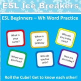 ESL / ELL Ice Breaker for Beginners: The Cube Game