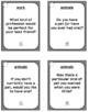 ESL - ELL Intermediate Level - 83 Conversation Cards and Speaking Prompts