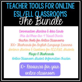 ESL/ELL Teacher Tools- The Bundle