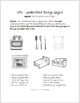 ESL - ELL speaking activity - House Vocabulary - UFO Paired Speaking Activity