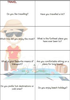ESL ENGLISH Conversation Cards LEVEL: Beginners VOL.2