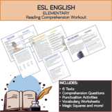 Short Stories & Comprehension Activities  (ESL Elementary)