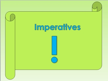 ESL: ENGLISH GRAMMAR - IMPERATIVES (GRAMMAR + ACTIVITIES)