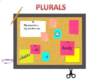 ESL: ENGLISH GRAMMAR - PLURALS (GRAMMAR + ACTIVITIES)