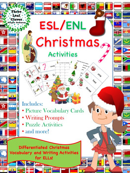 ESL/ENL Christmas Vocabulary Activities