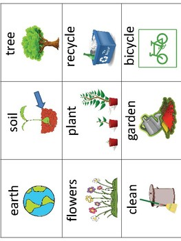 ESL/ENL Earth Day Vocabulary Activities