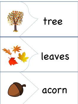 ESL/ENL Fall Vocabulary Activities