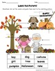 ESL/ENL Fall Vocabulary Activities BUNDLE