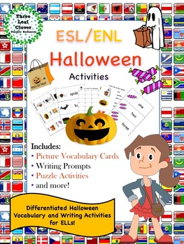 ESL/ENL Halloween Vocabulary Activities