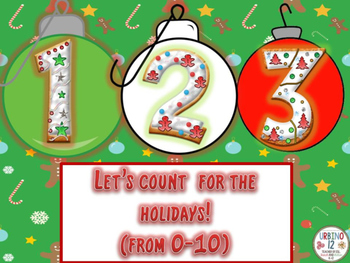 Numbers for the Holidays! ( 0-10)