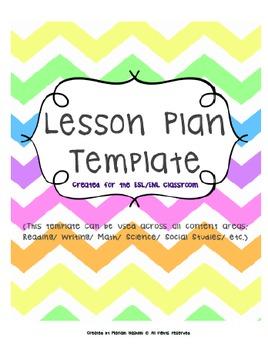 NYS ESL + ENL Lesson Plan Template