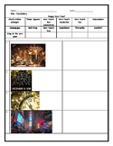 ESL ENL New Year's Eve and Resolution Worksheet