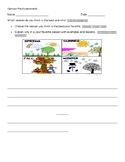 ESL ENL Opinion Writing Assessment