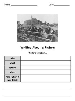 ESL/ENL Speaking & Writing Prompts BUNDLE
