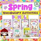 ESL/ENL Spring Vocabulary Activities BUNDLE