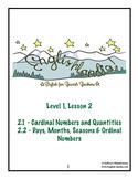 ESL, ESOL, EFL for Spanish Speakers Lesson 2 (Using Numbers)
